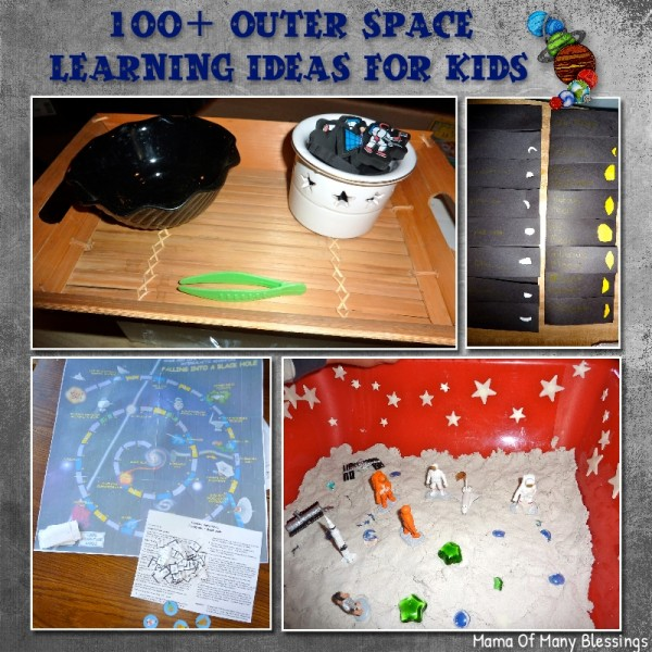 Outer Space Ideas for Kids