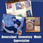 Homeschool Music Appreciation for Elementary
