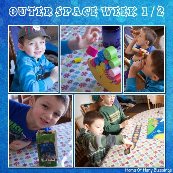 Outer Space Learning Fun