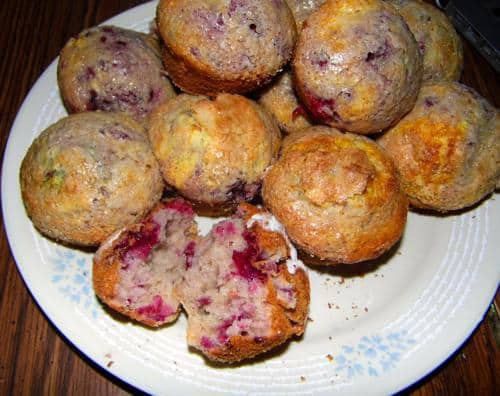 Healthy Strawberries and creme Breakfast Muffins