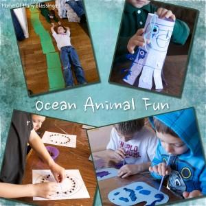 Big Ocean Animals