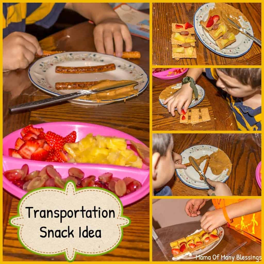 Transportation-Snack-Idea