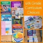 6th Grade Curriculum Choices 2015-2016