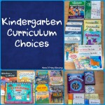 Kindergartner Curriculum Choices for 2015-2016