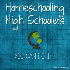 Homeschooling High Schoolers, It's Easier Then You Think