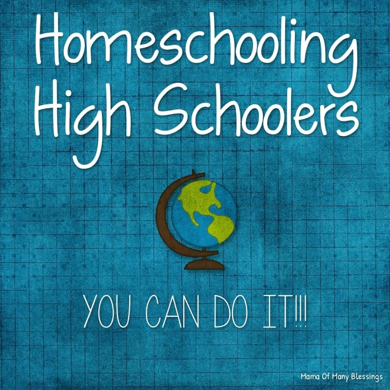 Homeschooling High Schoolers