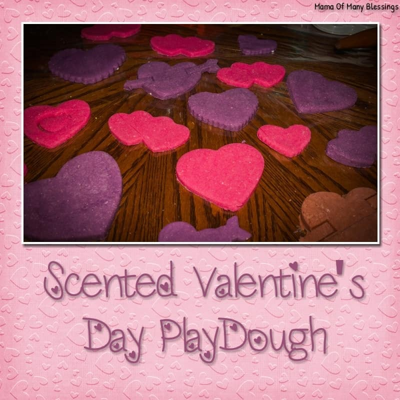 wonderful glittery and soft valentines day playdough, Ideas