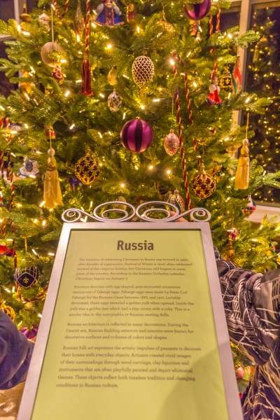 Christmas Around The World - Russian Christmas Tree