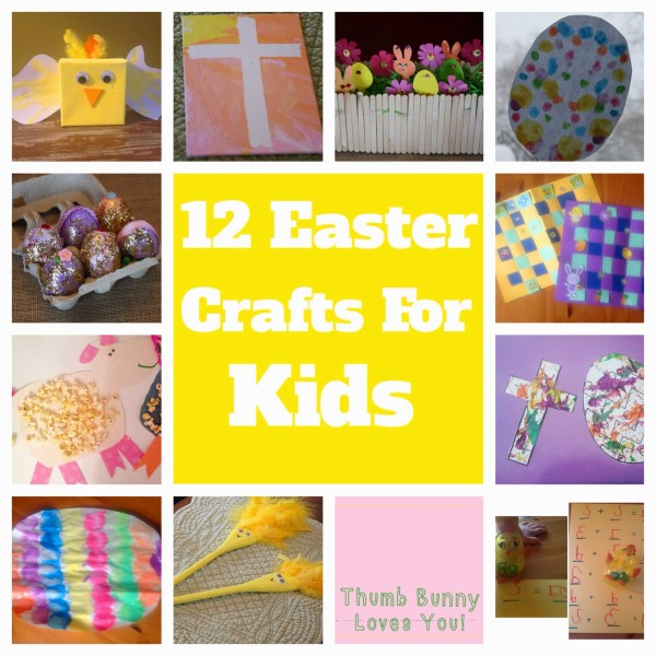 12 Easter Crafts for Kids