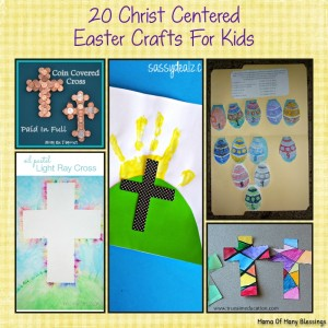 20 Christ Centered Easter Crafts For Kids