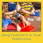 Using Geoboard In Your Homeschool