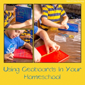 Using Geoboard In Your Homeschool