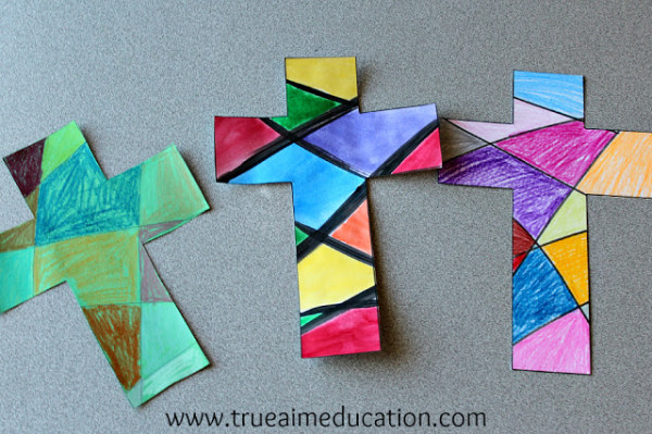 20 christ centered easter crafts for kids for Cross craft for kids