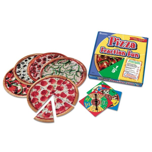 Pizza-Fractions-Game