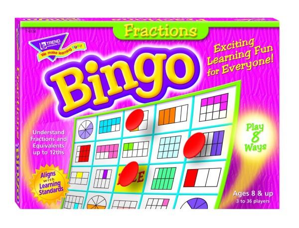 Fraction-Bingo
