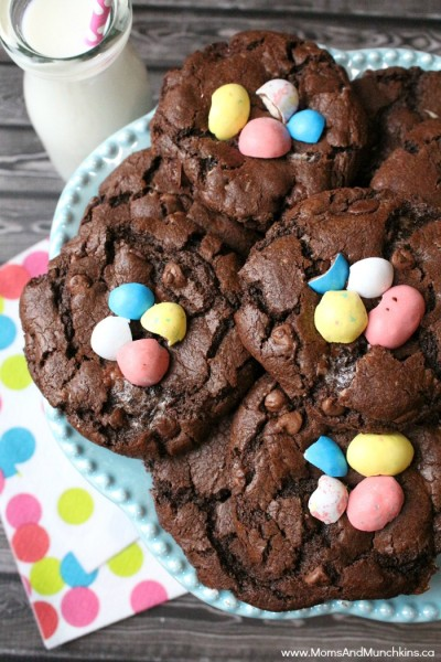 chocolate-easter-cookies