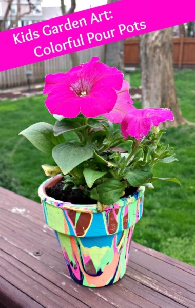 Rainbow-Flower-Pot-Spring-Craft
