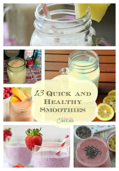 13-Quick-and-Healthy-Smoothies-Collage
