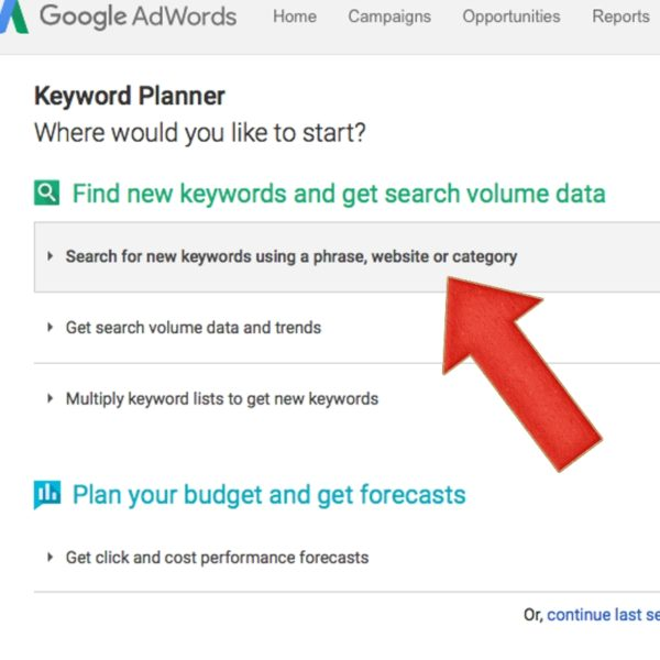 using-Google-Keyword-Planner