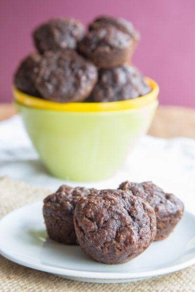 Flourless-Oatmeal-Nutella-Pumpkin-Muffins-recipe--Healthy-breakfast-ideas