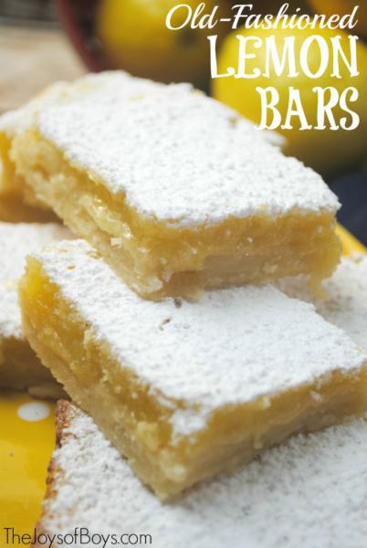 Old-fashioned-Lemon-Bars