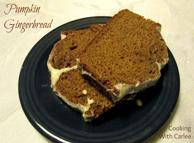 Pumpkin-Ginger-bread-Slices