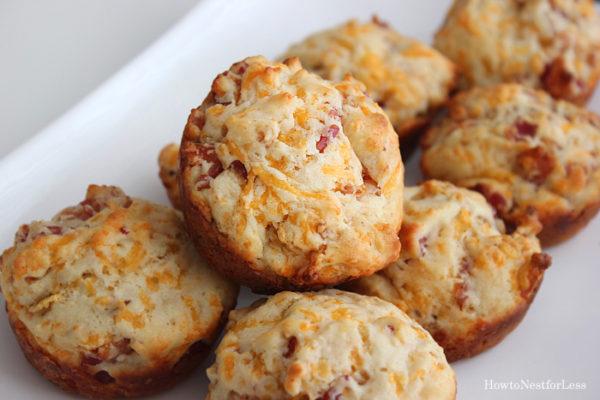 bacon-cheddar-muffins-recipe-Healthy-breakfast-ideas