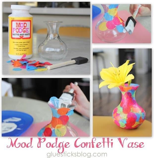 confetti+vase