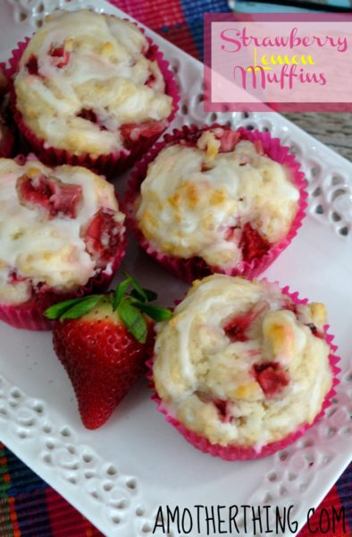 strawberry-lemon-muffins-Healthy-breakfast-ideas