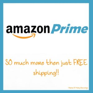 Amazon Prime ~ SO Much More Then Just Free Shipping