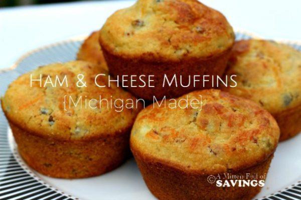 Ham-Cheese-Muffins-Michigan-Made-Recipe--Healthy-breakfast-ideas