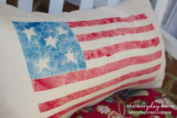 How-to-Make-a-Stenciled-Flag-Pillow-by-The-Everyday-Home-www.everydayhomeblog.com_-705x470