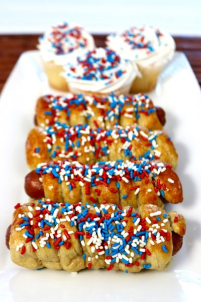 Patriotic-Spiral-Pretzel-Hot-Dog-Recipe-Patriotic Recipe