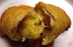Jalapeno Cheese Crescents Closeup