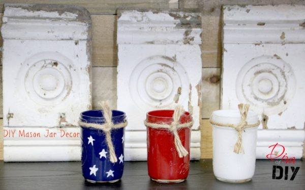 Patriotic-mason-jar-craft