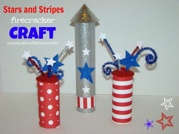 Stars-and-Stripes-Firecracker-Craft-for-Kids