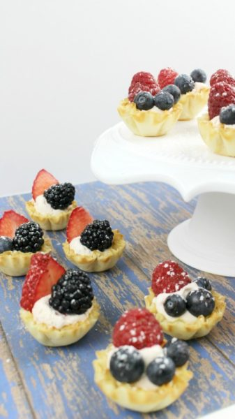 4th-of-july-fruit-tarts-Patriotic Recipe