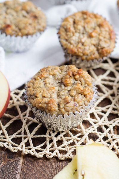 apple-banana-muffins--Healthy-breakfast-ideas