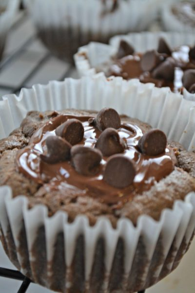 double-chocolate-peanut-butter-muffins--Healthy-breakfast-ideas