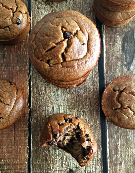 flourless-blender-chocolate-peanut-butter-muffins--Healthy-breakfast-ideas