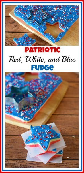 patriotic-red-white-and-blue-fudge-Patriotic Recipe