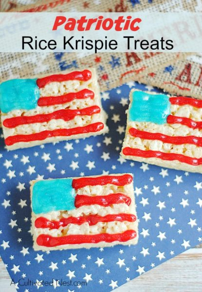 patriotic-rice-krispie-treats-Patriotic Recipe