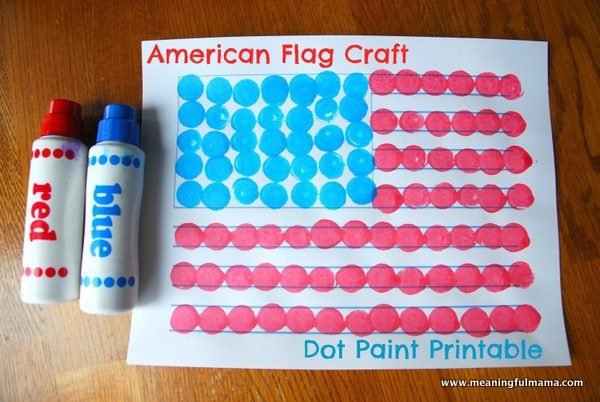 1-american-flag-craft-dot-paint-printable-001