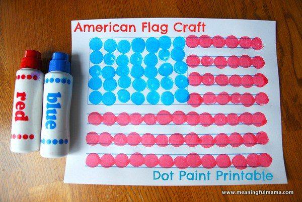 1-american-flag-craft-dot-paint-printable-001