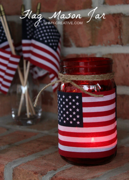 Patriotic-Flag-Mason-Jar-Candle-Holder-Craft-OHMY-CREATIVE.COM-2