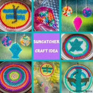 Easy To Make Sun Catcher Kid Craft Idea