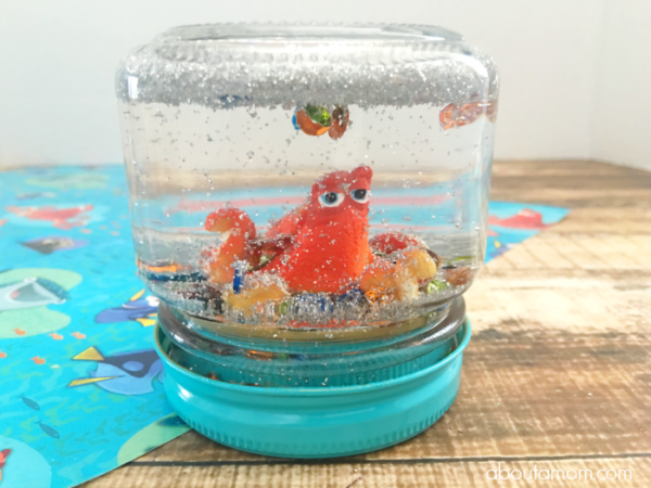 DIY-Glitter-Globe-Featuring-Hank-from-Finding-Dory-Kids-Craft-ideas