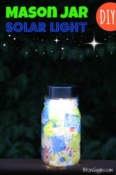 Mason-Jar-Solar-Light--Kids-Craft-ideas