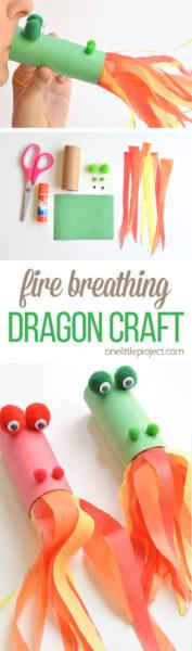 Paper-Roll-Dragon-Kids-Craft-ideas