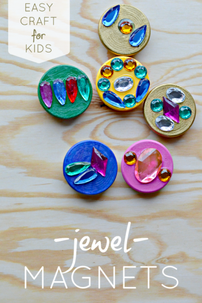 easy craft for kids create treasure jewel magnets-Kids-Craft-ideas